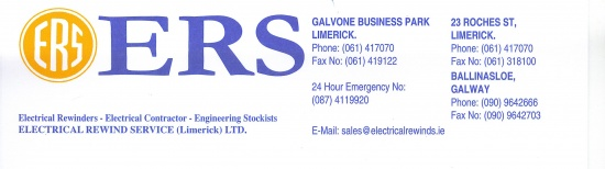 ERS - Electrical Rewind Services Ltd profile image